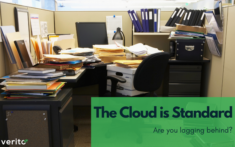 The Cloud is Standard: Are You Lagging Behind?
